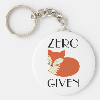 Zero Fox Given Key Ring