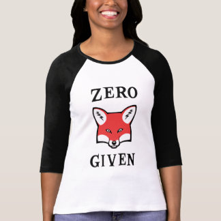 Zero (Fox) Given T-Shirt