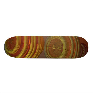 ZERO GRAVITY HONEY MANDELBULB 3D FRACTAL IMG SKATE BOARD DECKS