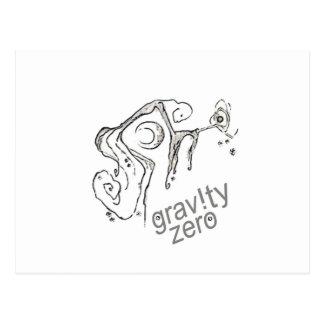 Zero Gravity Postcard
