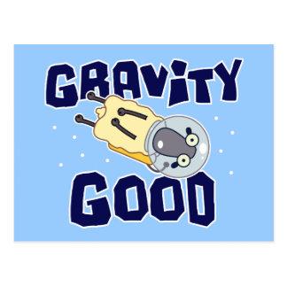 Zero Gravity Sheep Postcard