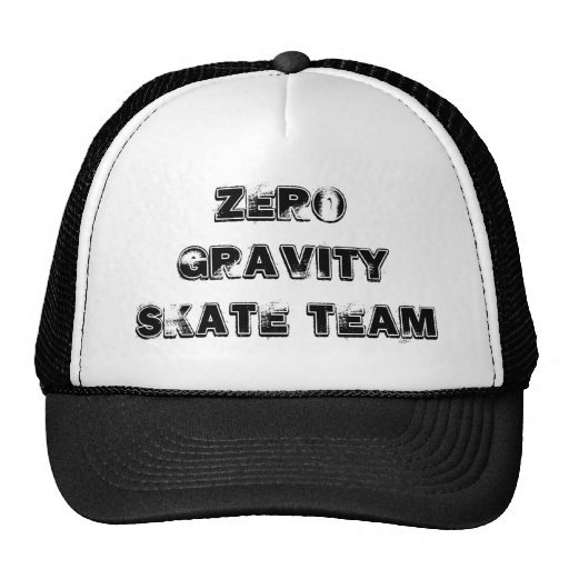 Zero gravity Skate Team Hats