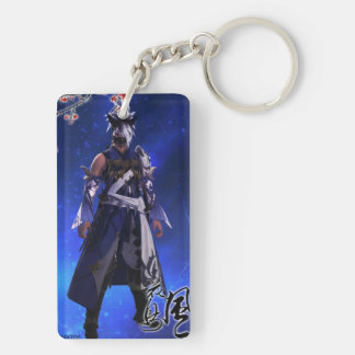 Zero Kitsune Key Ring