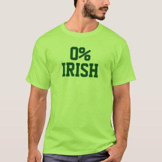Zero percent Irish Shirt