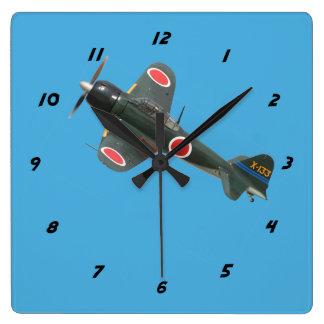 Zero Square Wall Clock