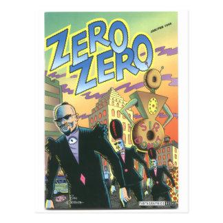 """""""Zero Zero"""", Jan. 1996 Postcard"""