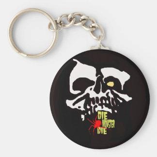 zeroskull Key Chain: horror punk Basic Round Button Key Ring