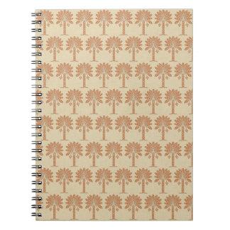 Zest Spice Moods Palm Notebook