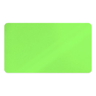 Zesty Key Lime Color Business Card Template