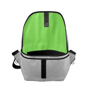 Zesty Key Lime Color Courier Bags
