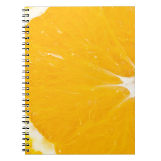 Zesty orange. notebooks