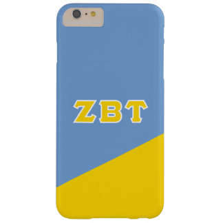 Zeta Beta Tau   Greek Letters Barely There iPhone 6 Plus Case
