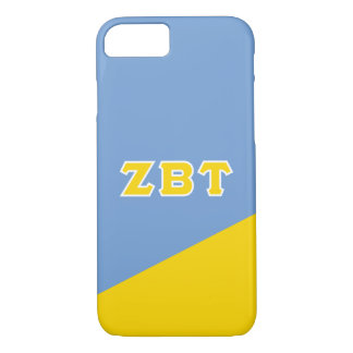 Zeta Beta Tau | Greek Letters iPhone 8/7 Case