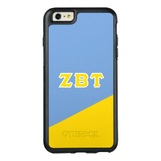 Zeta Beta Tau   Greek Letters OtterBox iPhone 6/6s Plus Case