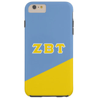 Zeta Beta Tau | Greek Letters Tough iPhone 6 Plus Case