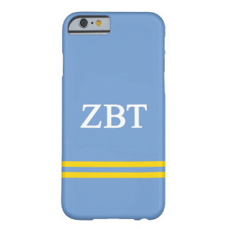 Zeta Beta Tau | Sport Stripe Barely There iPhone 6 Case