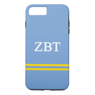 Zeta Beta Tau | Sport Stripe iPhone 8 Plus/7 Plus Case