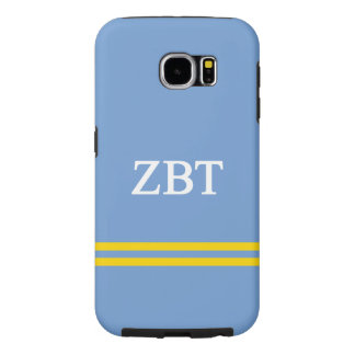 Zeta Beta Tau   Sport Stripe Samsung Galaxy S6 Cases