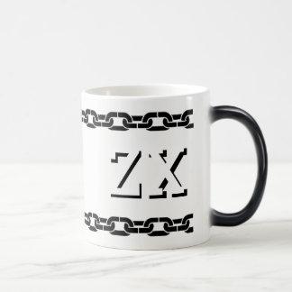 Zeta Chi Morphing Chain Mug