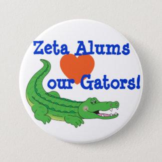Zeta loves the Gators pin