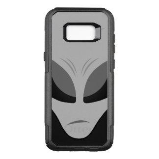 Zeta Reticulan Alien Grey OtterBox Commuter Samsung Galaxy S8+ Case