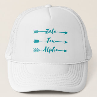 Zeta Tau Alpha Arrow Trucker Hat