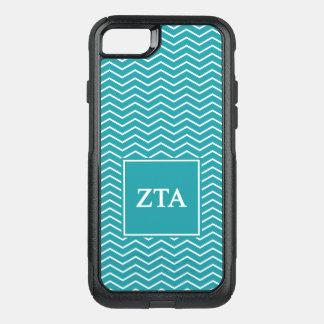 Zeta Tau Alpha | Chevron Pattern OtterBox Commuter iPhone 8/7 Case