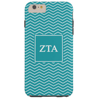 Zeta Tau Alpha | Chevron Pattern Tough iPhone 6 Plus Case