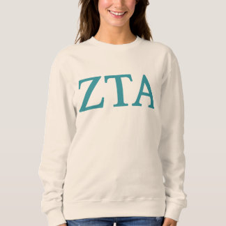 Zeta Tau Alpha Lil Big Logo Sweatshirt