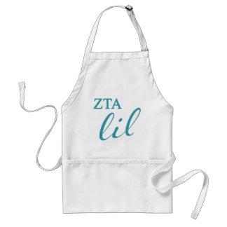 Zeta Tau Alpha Lil Script Standard Apron