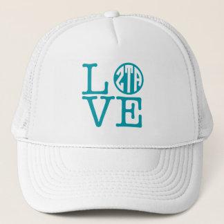 Zeta Tau Alpha Love Trucker Hat