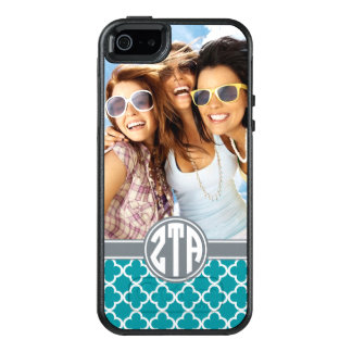 Zeta Tau Alpha | Monogram and Photo OtterBox iPhone 5/5s/SE Case