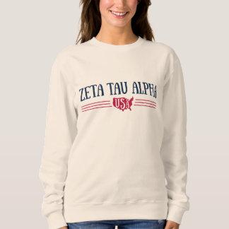 Zeta Tau Alpha USA Sweatshirt