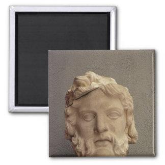Zeus, 69-96 AD Square Magnet