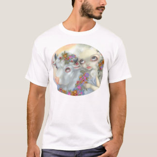 Zeus and Europa SHIRT mythology lowbrow art bull