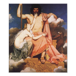 Zeus and Thetis Poster