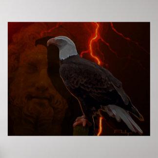 Zeus ' eagle poster
