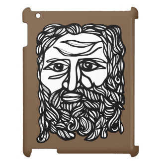"""Zeus Face"" iPad Case"