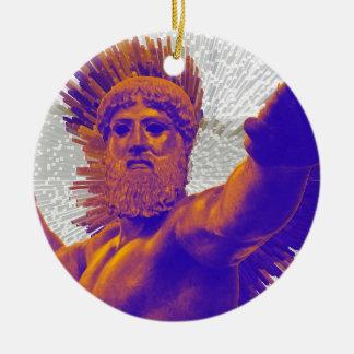 Zeus  - Jupiter Ceramic Ornament