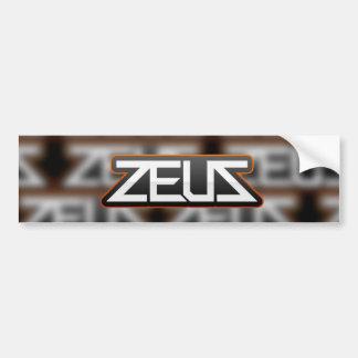 zeus logo sticker design