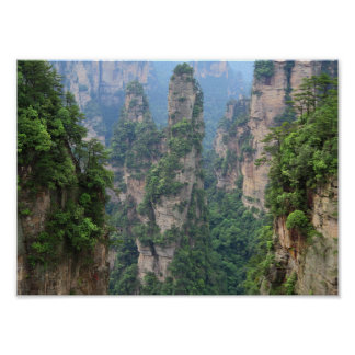 Zhangjiajie National Forest Park Poster