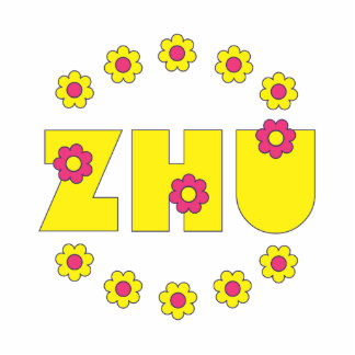 Zhu in Flores Yellow Photo Sculptures