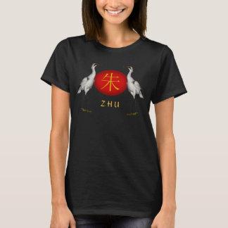 Zhu Monogram Crane T-Shirt