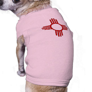 Zia (Sun) Sleeveless Dog Shirt