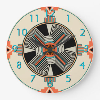 Zia Swirling Winds Wallclocks
