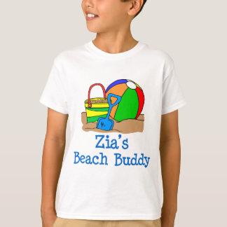 Zia's Beach Buddy Cute Design T-Shirt