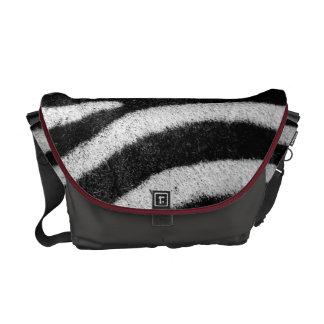 Zibra design medium bag gray color courier bag