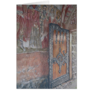 Zica Frescoes and Door Card