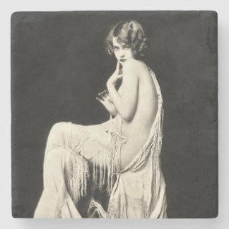 Ziegfeld Follies Beauty Stone Coaster
