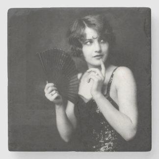 Ziegfeld Follies Girl Stone Coaster